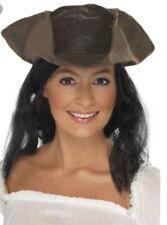 Tricorn caribbean hat pirate of Caribbean Jack sparrow pirate