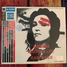 Madonna - American Life CD Rare 2003 Official Chinese Card Picture Slipcase