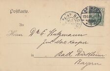 BREMEN, Postkarte 1906, Leopold Engelhardt & Biermann