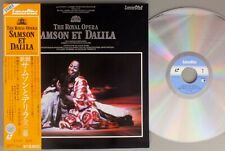 The Royal Opera - Samson Et Dalila - Japanese Laserdisc + OBI - RARE