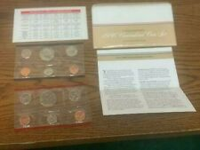 1986 P & D Uncirculated Mint set and envelope 10 coins