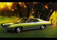 1971 FORD TORINO 500 NEW A2 CANVAS GICLEE ART PRINT POSTER FRAMED