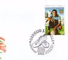 URUGUAY 2017 SOCCER 100 ANIV. 1950 WORLD CUP CAPTAIN OBDULIO VARELA FDC COVER
