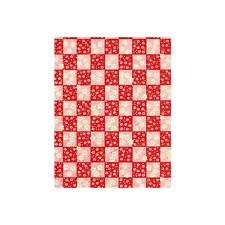 Origami-Papier -Japanische Red Check Washi Handwerk Papier -