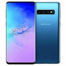 Samsung Galaxy S10 SM-G973U - 512GB Blue Factory Global Unlocked. Fair