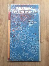 Graffiti Map Guide BACKJUMPS The Live Issue #2 Sticker Aufkleber Heft Streetart
