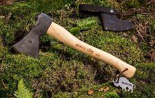 Bison 1879 handgeschmiedetes Universalbeil Axt Camping Forst Survival Made in DE