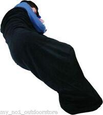 Trekmates Warm Microfleece Sleeping Bag Liner -  Black