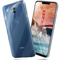 Silikon Case für Huawei Mate 20 Lite Schutz Hülle Transparent Thin Back Cover