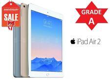 Apple iPad Air 2nd | WiFi + Unlocked | 16GB 32GB 64GB 128GB I Gray Silver Gold