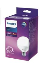 Philips Lighting LED EEC A+ (A++ - E) E27 en forme de globe 9.5 W = 60 W blanc