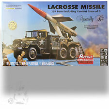REVELL 1/32 LACROSSE MISSLE 'RENEWAL BLUEPRINT' MODEL 139 PIECE W/ CREW OF 5