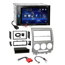 Pioneer DVD BT USB Camera Input Stereo Dash Kit Harness for 2006-2010 Mazda 5