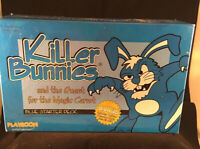 Killer Bunnies and the Quest for the Magic Carrot Blue Starter Deck Plus Yellow