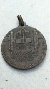 Italian fascist medal OND Roma Ferrovie Tiro a Volo fascismo Mussolini ww2 war