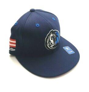 Adidas Dallas Mavericks NBA Puerto Rico Flag Flex Fit Hat Navy Size S/M or L/XL