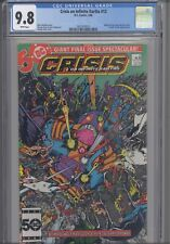 Crisis On Infinite Earths #12 CGC 9.8 1986 DC Wally West/New Flash: New Frame