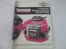 Briggs & Stratton Vtwin Ohv service and repair manual