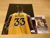 Jimmy Butler Marquette Heat Bulls Lebron Autographed Signed 8X10 Photo JSA COA