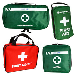 First Aid Carry Kit Bag - Case Box Pouch - Medical Emergency Survival Empty