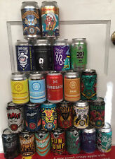 LOT 24 different MEMPHIS TN Craft Micro Brew Beer Cans all 12oz Bottom-opened