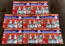 Huge Lot! Feliway MultiCat Diffuser Refills Lot of 16 (8 packs) All New! Save $