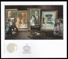 Norway 2003 Fdc Ms Birth Centenary Of King Olav V