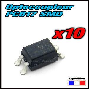 1562# Optocoupleur CMS 10 PCS PC817 PC817C EL817C LTV817 PC817-1 SMD