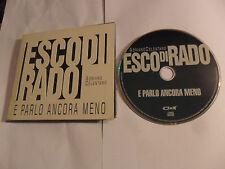ADRIANO CELENTANO - Esco Di Rado E Parlo Ancora Meno (CD 2000) ITALY Pressing