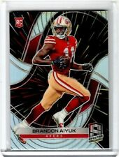 2020 PANINI SPECTRA BRANDON AIYUK HYPER ROOKIE RC BASE #54/75 49ERS HOT!