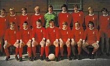 LIVERPOOL FOOTBALL TEAM PHOTO 1971-72 SEASON