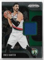 2019-20 Panini prizm sensational swatches jersey relic Enes Kanter Boston celtic