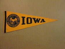 NCAA State University Of Iowa Organized 1847 Pennant