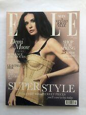 Elle Magazine Fashion Style Beauty - May 2010 - Demi Moore