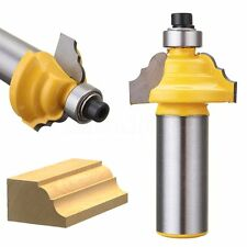 1/2'' Shank Double Roman Ogee Edging Molding Router Bit 3 Arc Table Blade Cutter