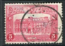 BELGIUM;   1929 early Parcel Post issue fine used 5Fr. value