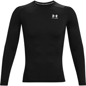 Under Armour Men's HeatGear Long Sleeve Compression Shirt-1361524-FREE SHIPPING