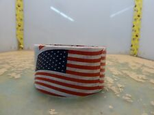 American flags fashion duct tape roll 1.88in x 10yds patriotic [2*R-30]