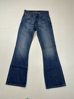 LEVI'S 516 Bootcut Flare Jeans - W27 L32 - Navy - Great Condition - Men's