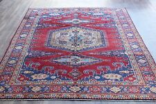 OLD WOOL HAND MADE ORIENTAL FLORAL RUNNER AREA RUG CARPET 305 x 210 CM