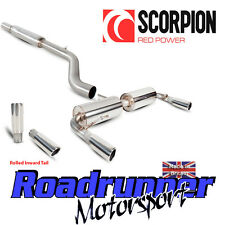 Scorpion SRN025 Renault Clio 197 Exhaust System Stainless Cat Back Res Rolled In