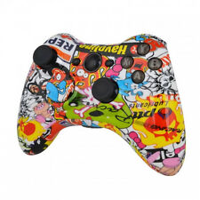 Sticker Bomb Hydro Dipped Xbox 360 controller shell/buttons/inserts