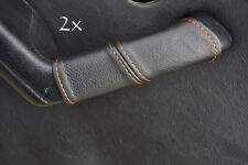 FITS MAZDA MIATA MX5 MK1 2X DOOR HANDLE COVERS orange stitch