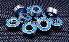 (10 PCS) 686-2RS (6x13x5 mm) Rubber Sealed PRECISION Ball Bearings (BLUE) 6*13*5