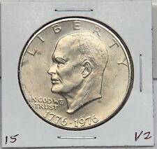 1976 P Eisenhower Dollar Coin - Ike - Variety 2 or Type 2 Philadelphia