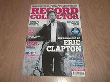 RECORD COLLECTOR MAGAZINE  JANUARY 2014 ISSUE 423 ERIC CLAPTON ABC BLUETONES