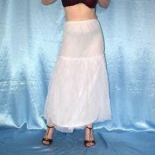 schwingender Ring am REIFROCK mit Tüll* S * Hochzeit Unterrock, Petticoat, TüTü