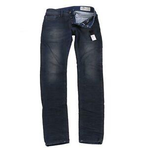 DIESEL Herren Stretch Denim Jeans SLEENKER Dunkelblau 0842Q 2. Wahl Gr. 30/32