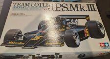 Tamiya Team Lotus J.P.S. Mk. III F1 model kit 1.12 scale