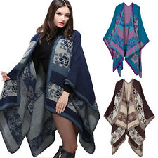 Women Lady Scarf Winter Neck Warm Soft Stole Wrap Shawl Pashmina Poncho Cape